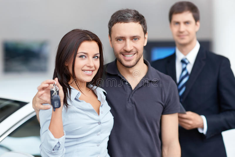 Sprzedaż samochody obrazy stock