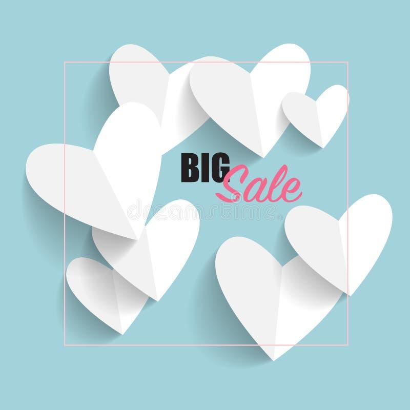 Sprzedaż talon, alegat, etykietka karcianej dzień projekta dreamstime zieleni kierowa ilustracja s stylizował valentine wektor We ilustracji