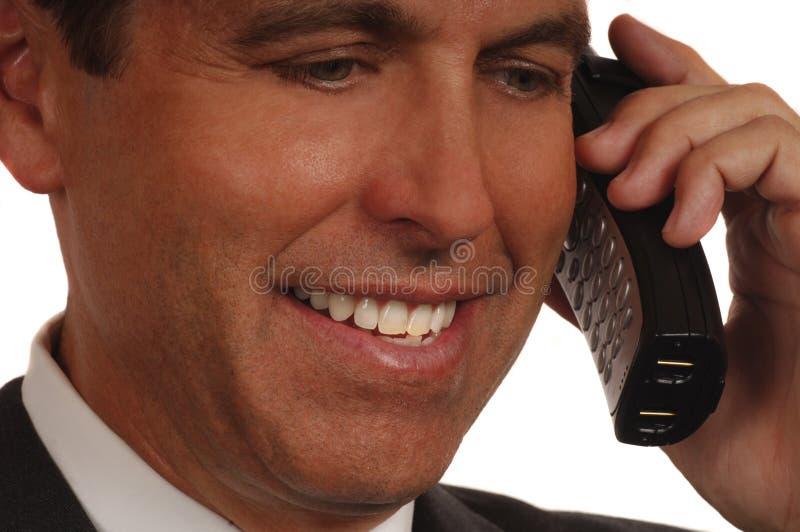 sprzedawca telefonu obrazy stock