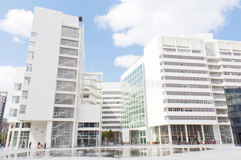 spui βιβλιοθηκών της Χάγης στοκ εικόνες