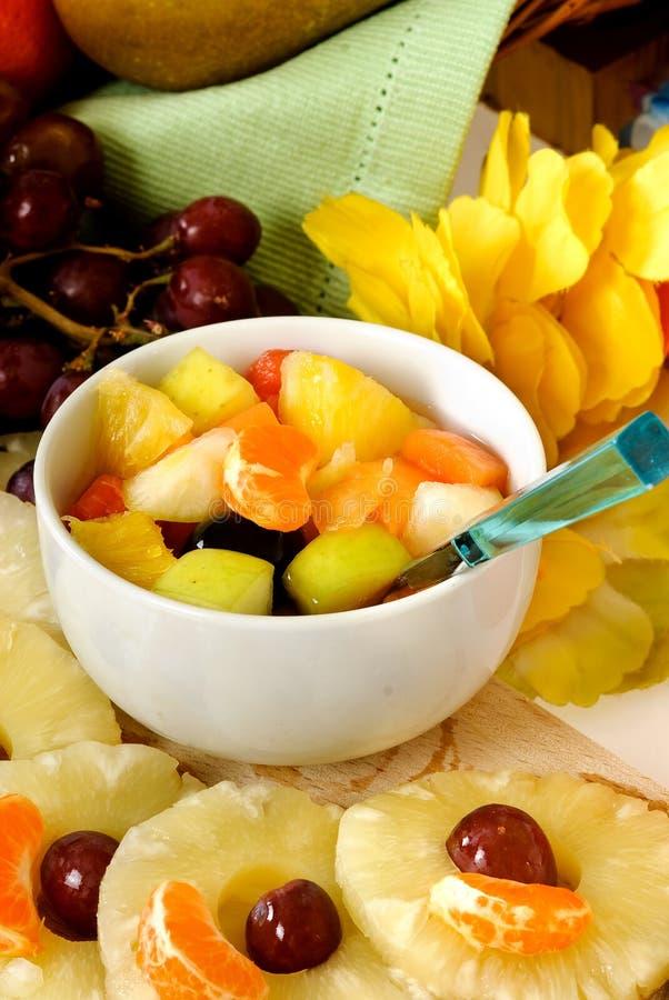 Spuntino del cocktail di frutta immagine stock