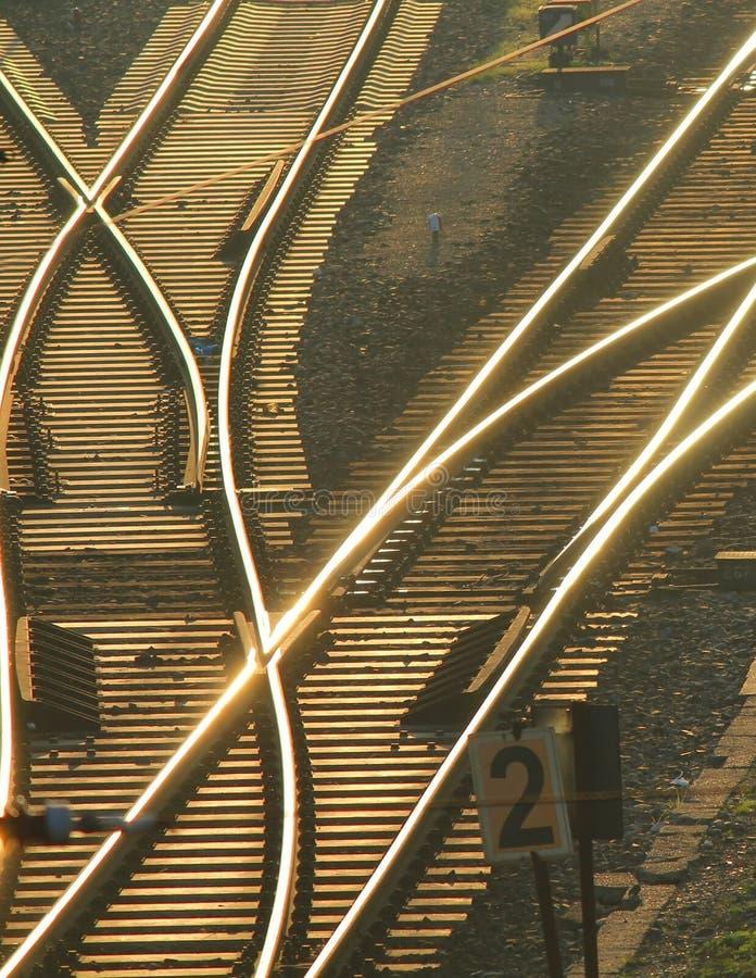 Spur-Schalter in Berlin lizenzfreie stockbilder