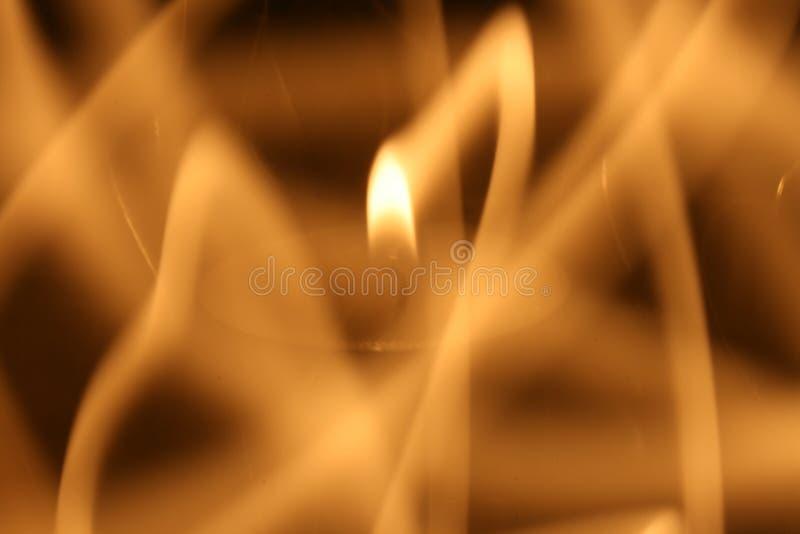Spuren der Flamme stockfotografie