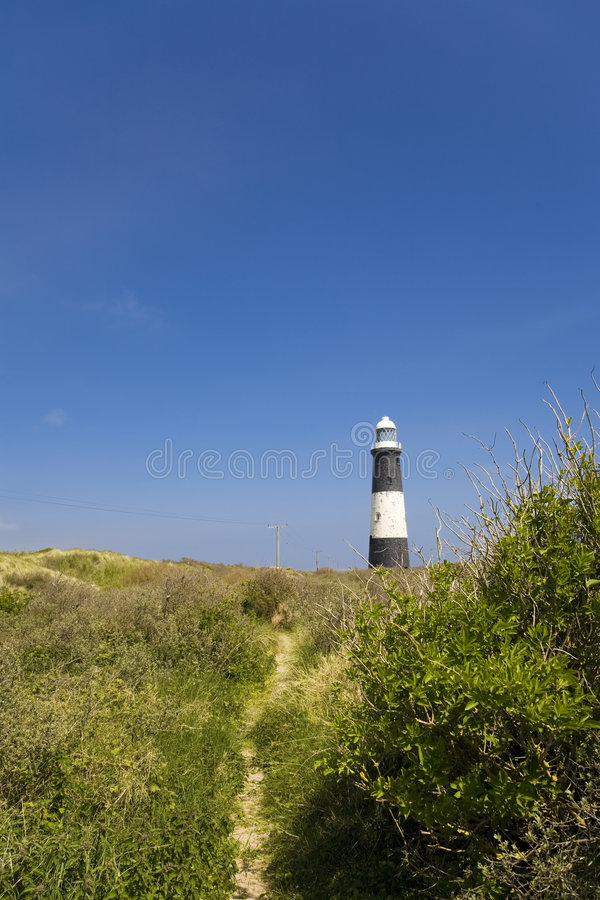 Free Spurn Point Lighthouse Royalty Free Stock Images - 5992719