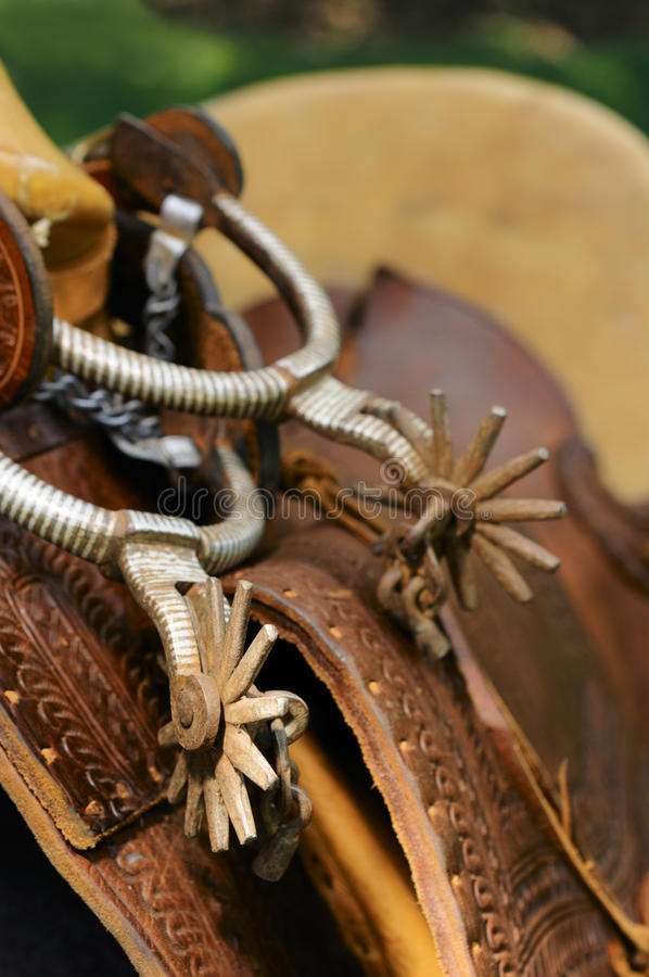 Free Spurs & Saddle Royalty Free Stock Images - 11687239