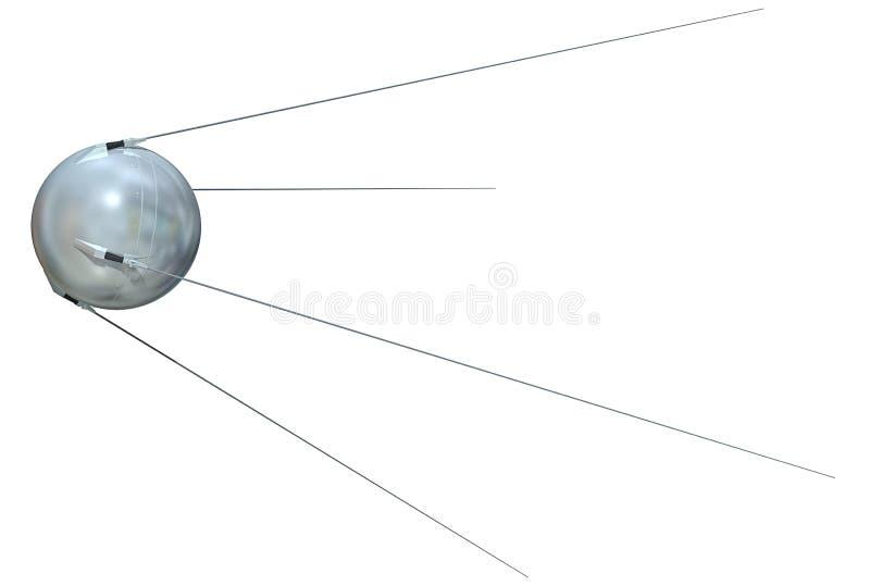 Sputnik 1 illustrazione vettoriale