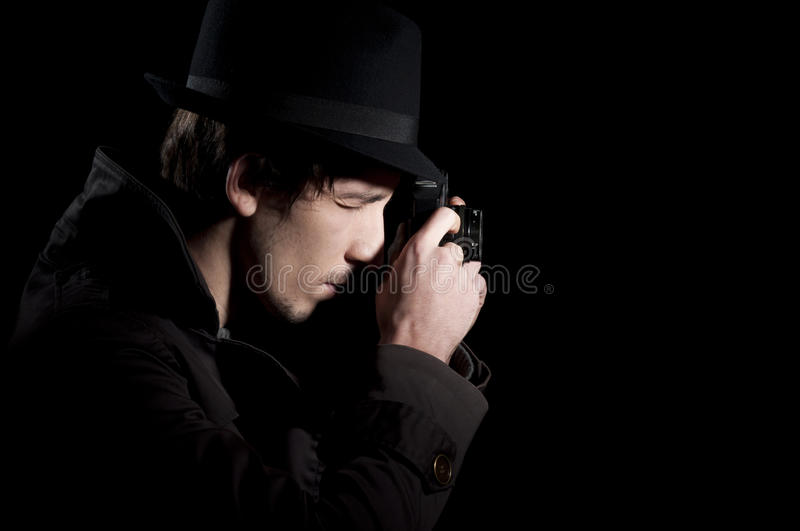 Spy royalty free stock images