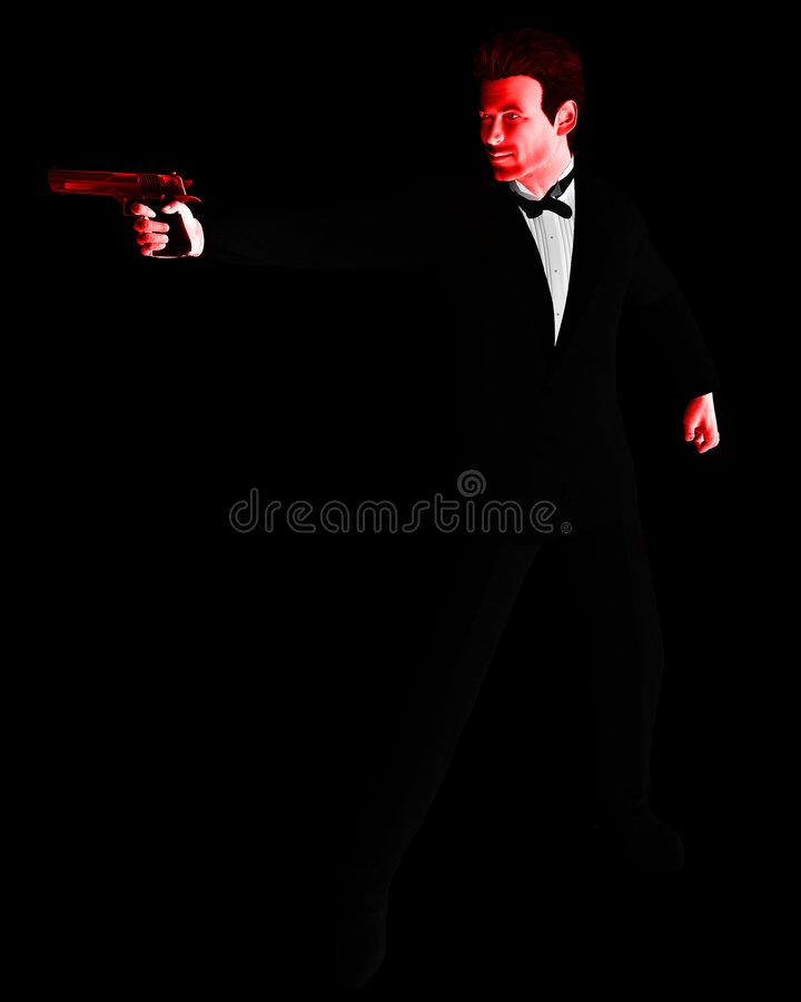 Download The Spy 24 stock illustration. Image of agent, service - 1773276