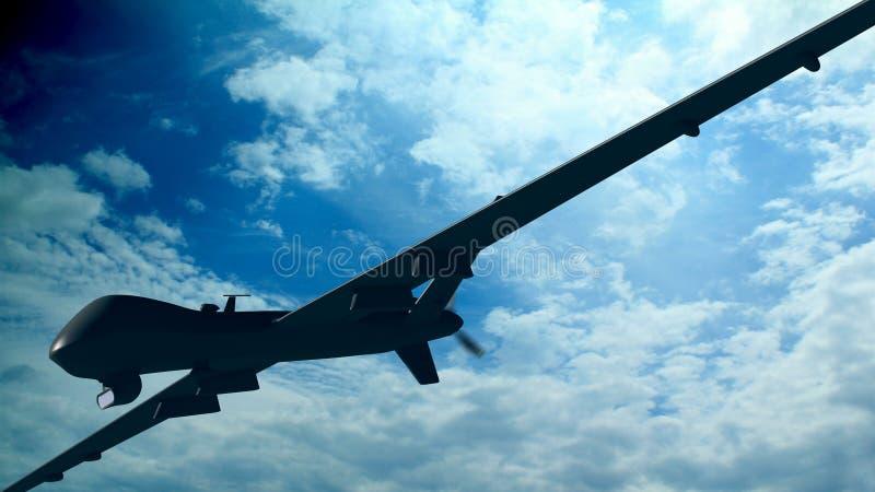 Spy Airplane Royalty Free Stock Photo