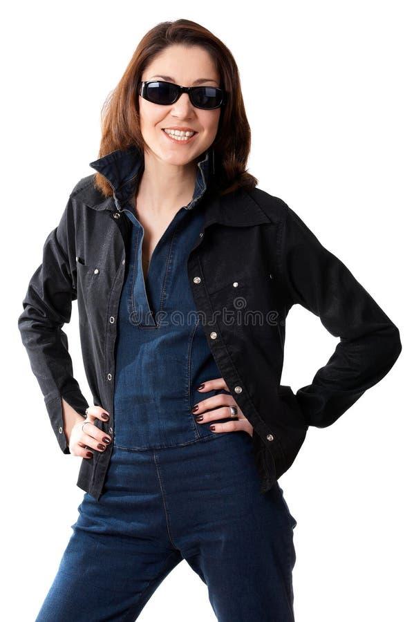 Spy Girl royalty free stock image