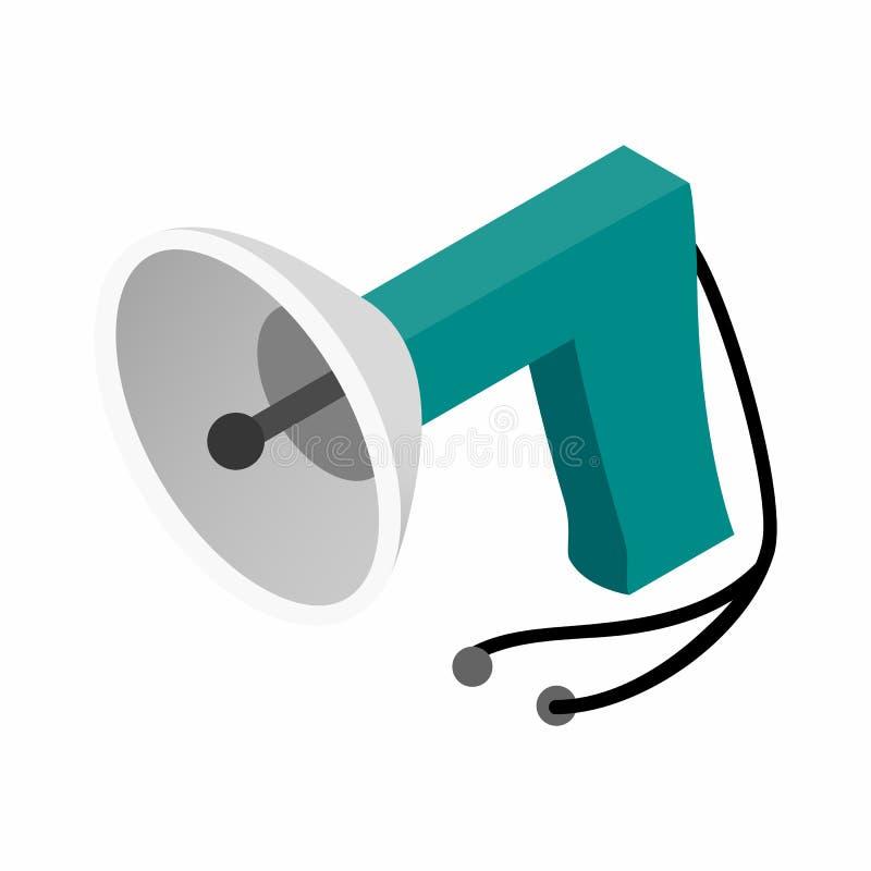 Spy listening device isometric 3d icon stock illustration