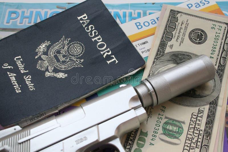 Spy travel stock photo