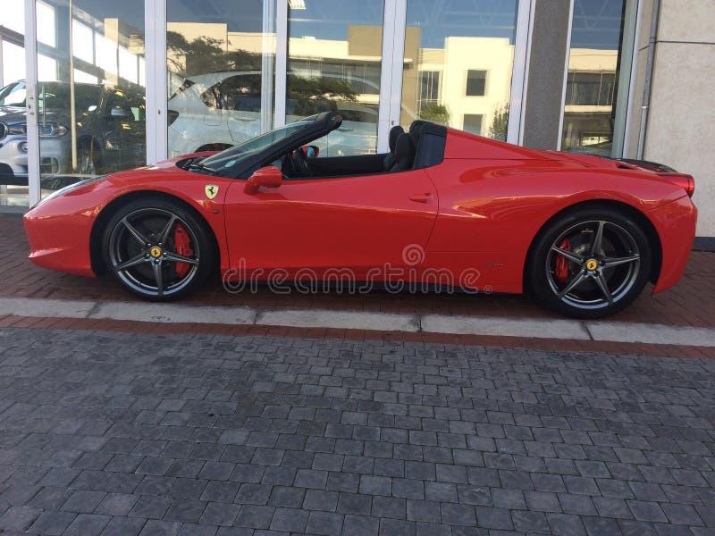 Spyder Ferraris 458 Italien lizenzfreies stockbild