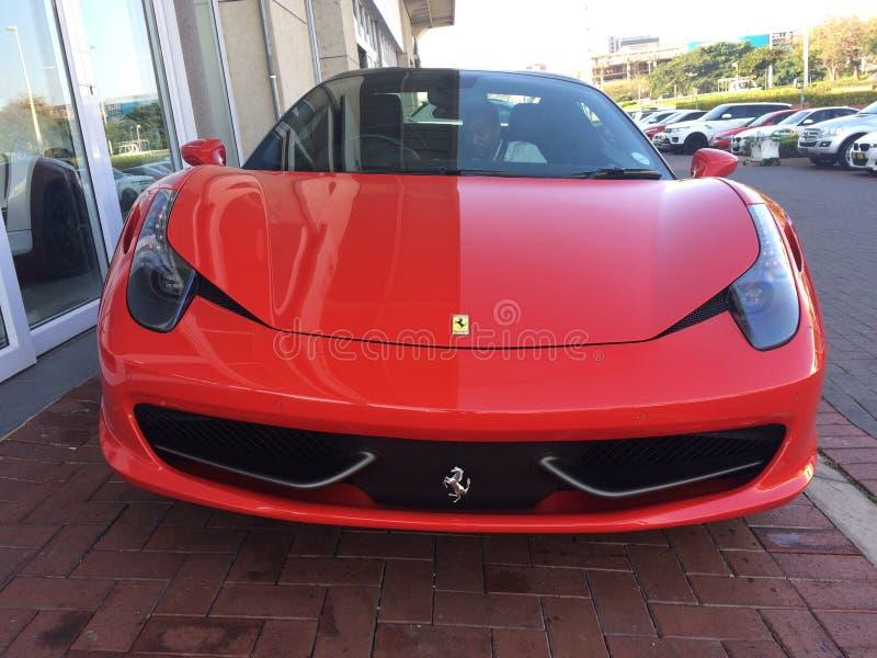 Spyder Ferraris 458 Italien stockbilder