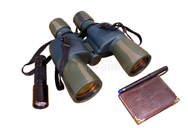 Spyglass imagens de stock royalty free