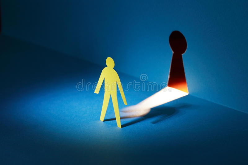 Download Spying Through Keyhole stock image. Image of bizarre - 22020667