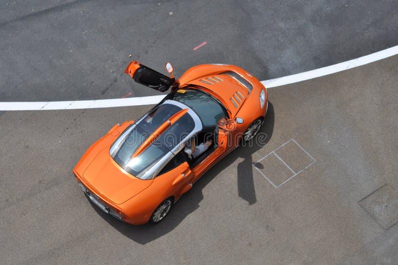 Spyker C8 de ci-avant image libre de droits
