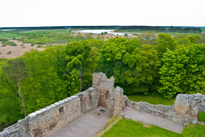 Spynie Palace royalty free stock images