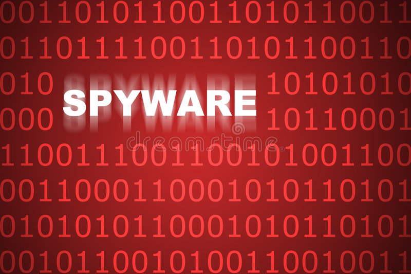 Spyware Abstract Background vector illustration