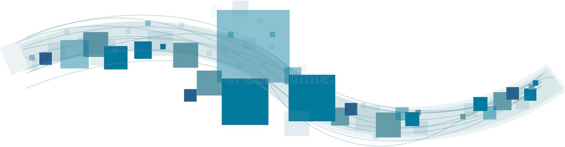 Sqares y líneas imagen de archivo