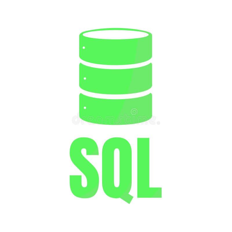 sql database icon logo design ui or ux app stock vector rh dreamstime com database logon failed in crystal report database logon failed in crystal report
