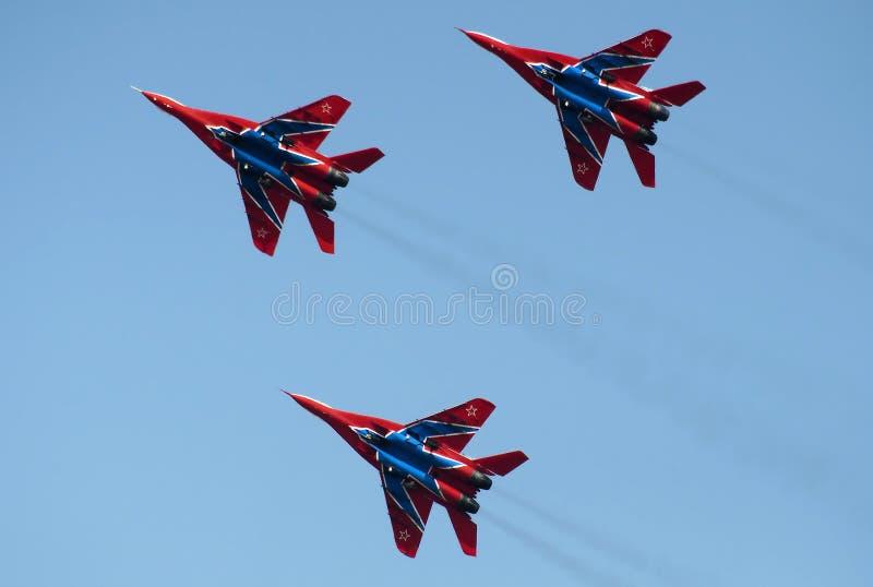 Squadra Aerobatic lo Swifts immagini stock