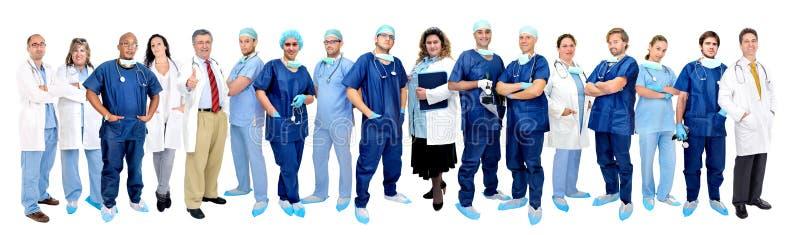 Squadra dei medici immagine stock