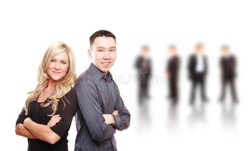 Squadra di affari fotografie stock libere da diritti