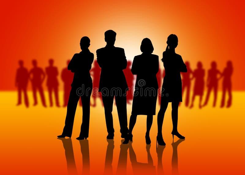 Download Squadra di affari illustrazione di stock. Illustrazione di commercio - 7312066