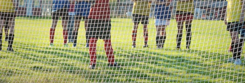 Squadra di calcio immagine stock