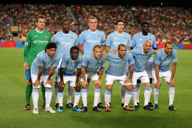 Squadra di Liverpool FC immagine stock libera da diritti