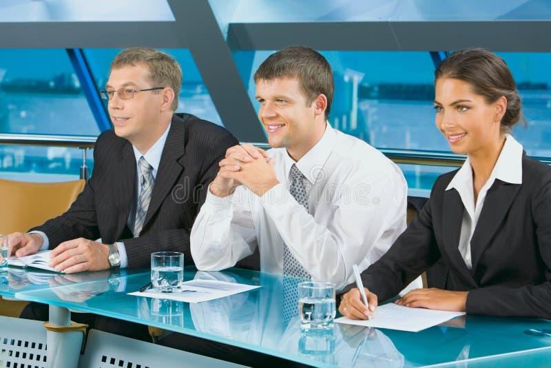 Squadra di professionisti immagine stock libera da diritti