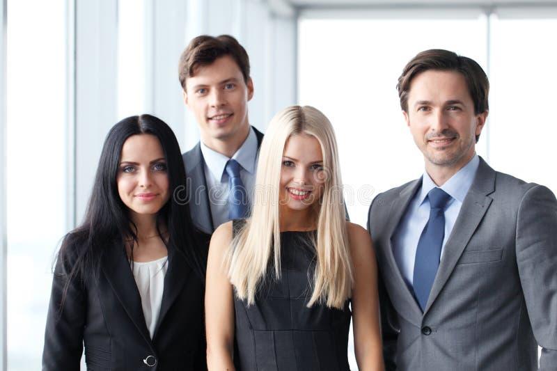 Squadra felice di affari immagini stock libere da diritti