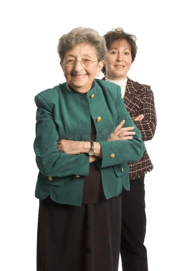 Squadra femminile fotografie stock