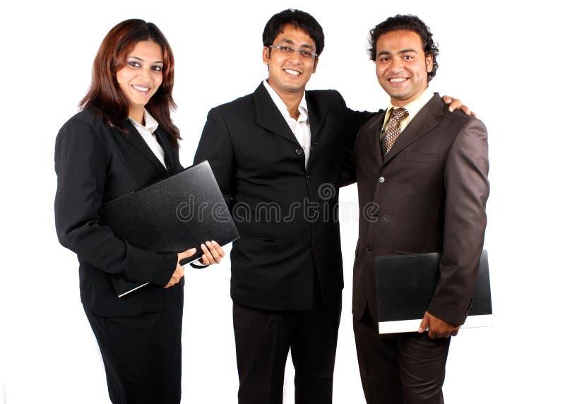 Squadra indiana astuta di affari fotografie stock