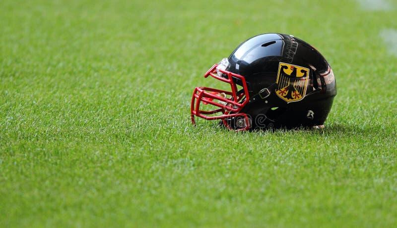 Squadra nazionale tedesca nel football americano. fotografia stock libera da diritti