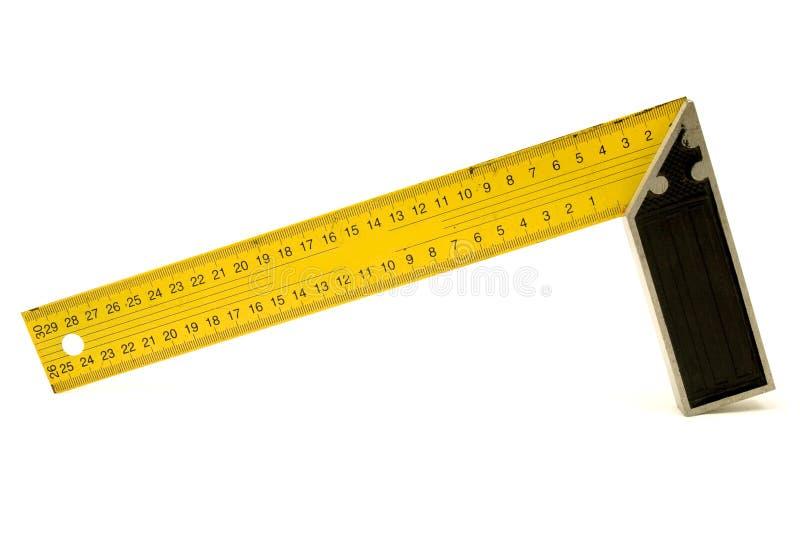Squadra a triangolo gialla immagini stock