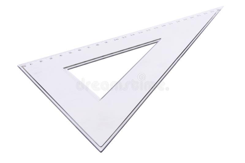 Squadra a triangolo trasparente immagini stock libere da diritti