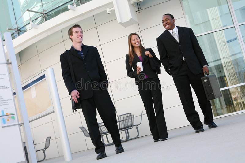 Squadra varia di affari immagine stock libera da diritti