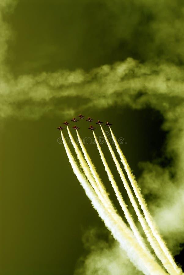 the squadron royalty free stock photos