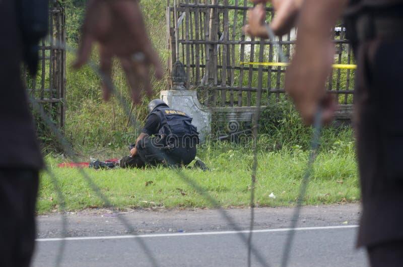 SQUADRONE DELLA MORTE DELL'INDONESIA immagine stock libera da diritti
