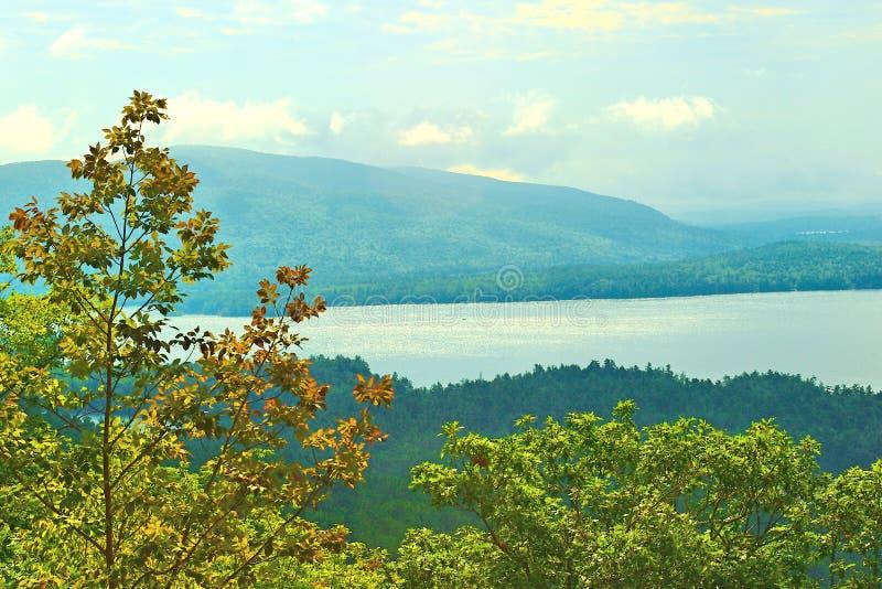 Squam See New Hampshire lizenzfreie stockbilder