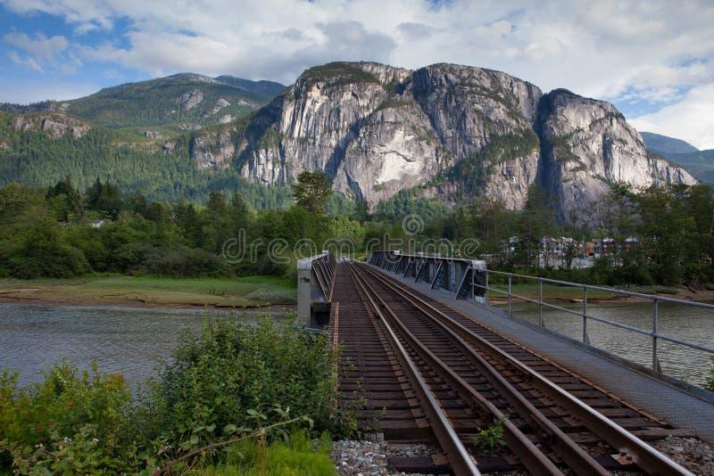 Squamish, Stawamus szef fotografia royalty free