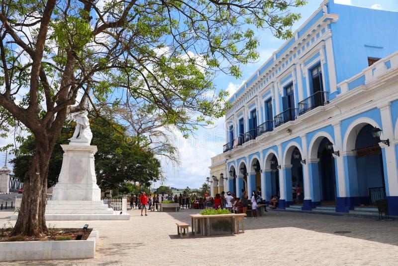 Squara «Plaza de Λα Vigía», Matanzas, κοντά σε Varadero, Κούβα στοκ εικόνες με δικαίωμα ελεύθερης χρήσης