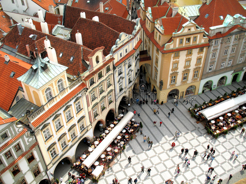 Download Square stock image. Image of prague, apartment, history - 1699623