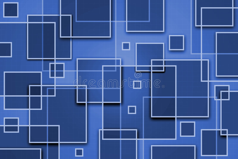 Square Abstract Background vector illustration