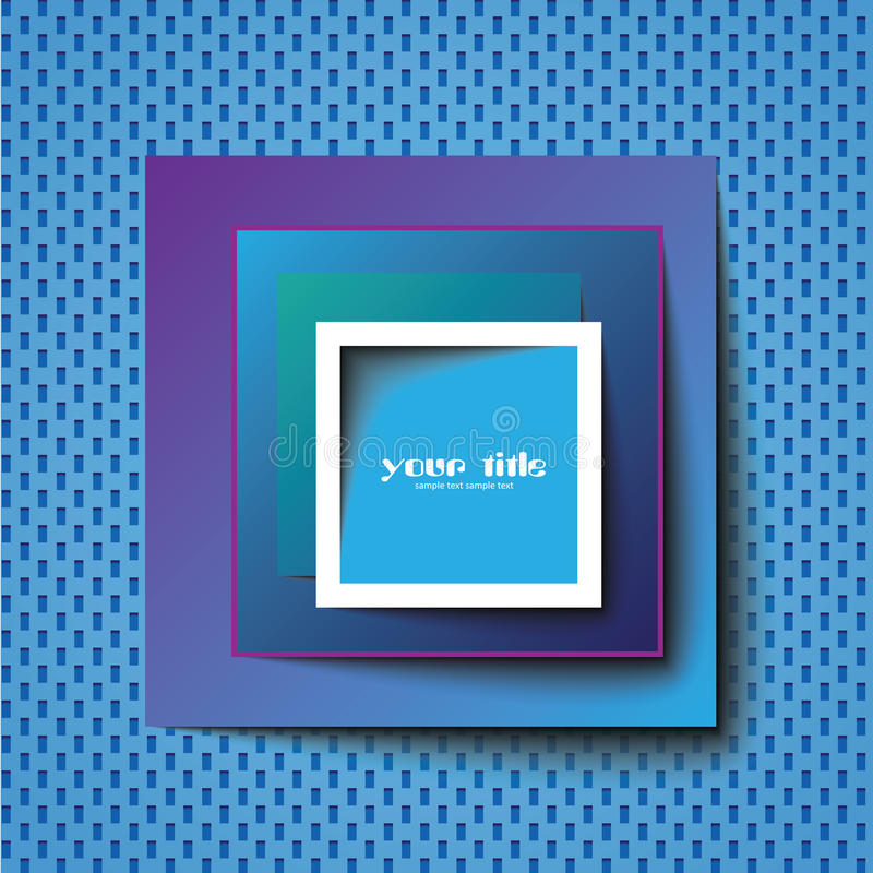 Download Square Abstract Template / Logo Stock Vector - Image: 20575488