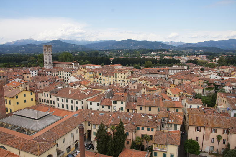 Download Square Of Amphitheatre, Lucca, Italy Stock Photo - Image: 35277574