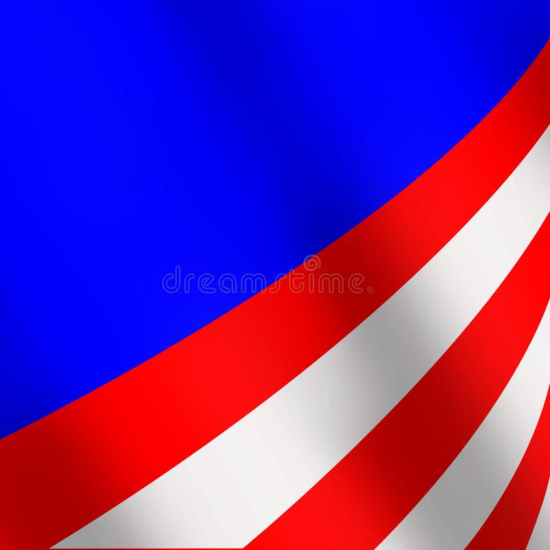 Background with colors of the American flag royalty free stock image