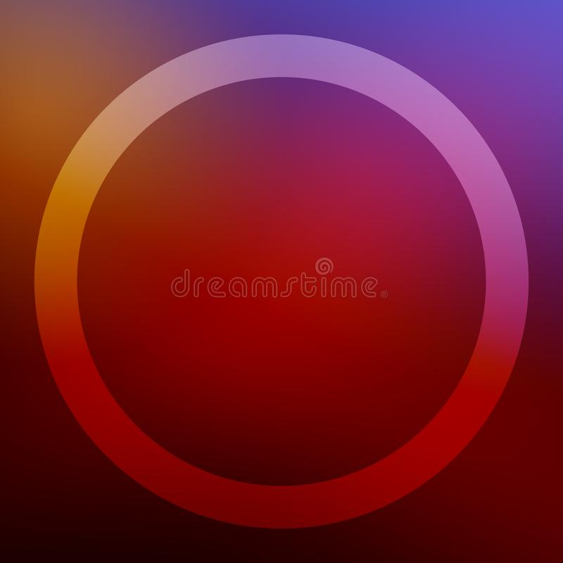 Square background with round frame for christmas greeting cards and other wishes. For print and web. royalty free stock images